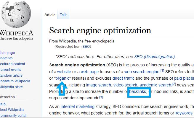 Backlinks just like wiki